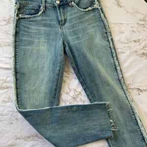 Blank NYC Jeans - BLANKNYC Denim Frays for Days Crop Skinny Jeans